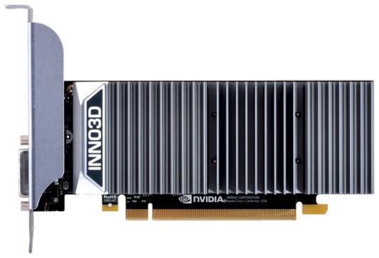 Видеокарта 2048Mb Inno3D GeForce GT1030 PCI-E DDR5 64bit DVI HDMI HDCP N1030-1SDV-E5BL Retail видеокарта 2048mb palit geforce gtx750 pci e stormx oc 128bit ddr5 dvi hdmi crt hdcp ne5x750thd41 2065f oem