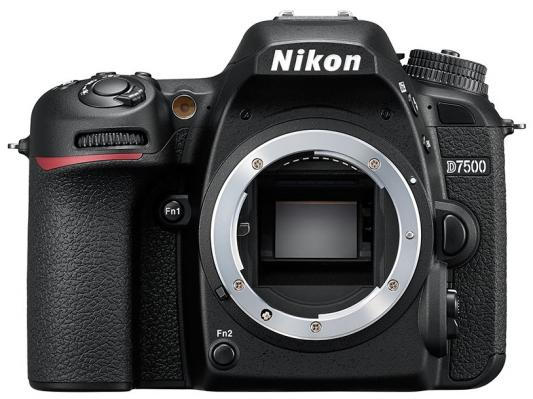 Зеркальная фотокамера Nikon D7500 Body 20.9Mp черный VBA510AE купить nikon d80 body петербург