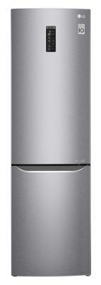 Холодильник LG GA-B499SMKZ нержавеющая сталь холодильник lg ga b499smkz silver
