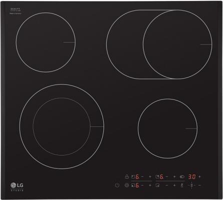 Варочная панель электрическая LG KA60510F черный lg 49lf540v
