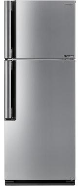Холодильник Sharp SJ-XE35PMSL серебристый двухкамерный холодильник sharp sj xe 35 pmsl
