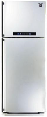 Холодильник Sharp SJ-PC58AWH белый холодильник sharp sj b233zr sl серебристый