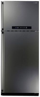 Холодильник Sharp SJ-PC58AST серебристый холодильник sharp sj b236zr wh белый