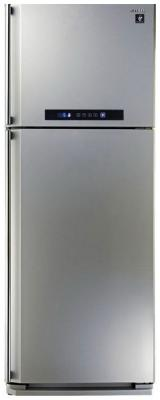 Холодильник Sharp SJ-PC58ASL серебристый холодильник sharp sj b233zr sl серебристый