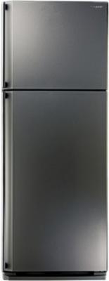 Холодильник Sharp SJ-58CST нержавеющая сталь холодильник sharp sj b236zr wh белый