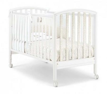 Кроватка Pali Max (белый в мелкий цветной горошек)