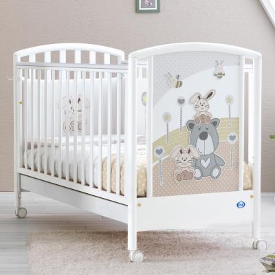 Купить Кроватка Pali Joy (белый), массив бука / МДФ, Кроватки без укачивания