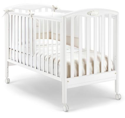 Купить Кроватка Pali Dado (белый), бук, Кроватки без укачивания