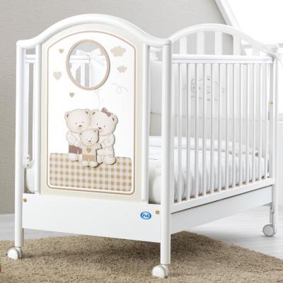 Купить Кроватка Pali Chic (белый), бук, Кроватки без укачивания
