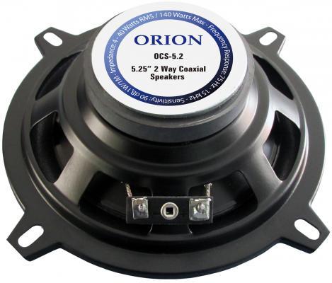 Автоакустика Orion OCS-5.2 коаксиальная 2-полосная 13см 40Вт-140Вт от 123.ru