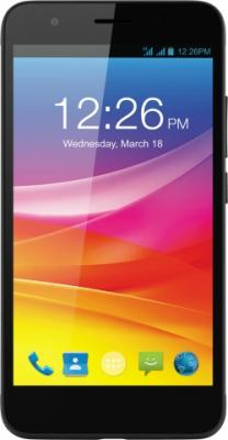 Смартфон Micromax Q465 черный 5 16 Гб LTE Wi-Fi GPS 3G смартфон micromax bolt q379 yellow
