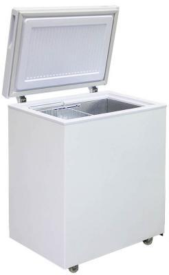 Морозильный ларь Бирюса 155VK белый морозильный ларь whirlpool whm 3111 белый