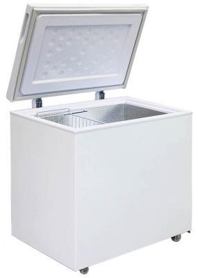 Морозильный ларь Бирюса 200VK белый морозильный ларь whirlpool whm 3111 белый