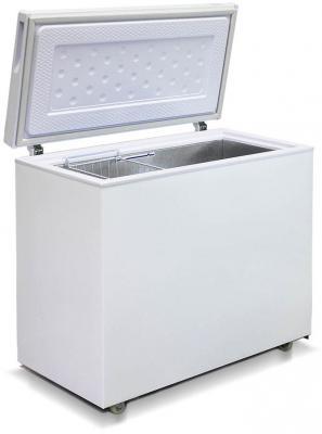Морозильный ларь Бирюса 240VК белый морозильный ларь kraft bd w 350qx белый