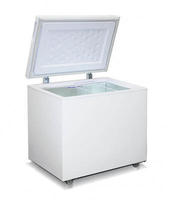 все цены на Морозильный ларь Бирюса 260VК белый онлайн
