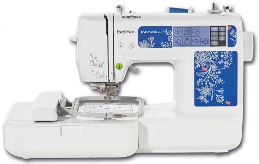 Швейная машина Brother Innov-is NV-97E белый/цветы