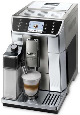 Кофеварка DeLonghi ECAM650.55.MS серебристый