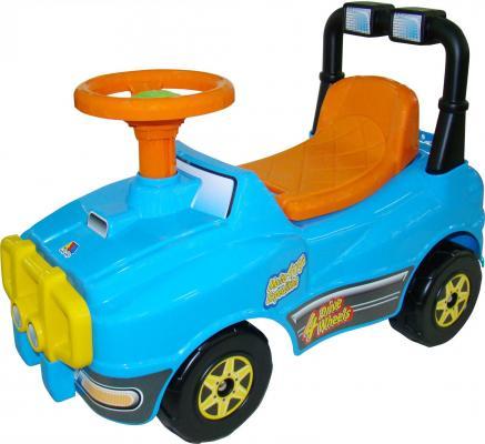 Каталка-машинка Полесье Джип №2 голубой от 1 года пластик