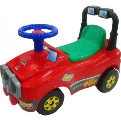 Каталка-машинка Molto Джип красный от 1 года пластик 62857