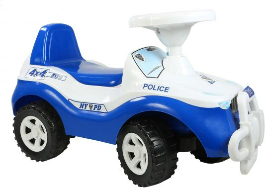 Каталка-машинка Orion Джипик 105_полиция бело-синий от 2 лет каталка orion toys каталка джипик полиция 105 пол