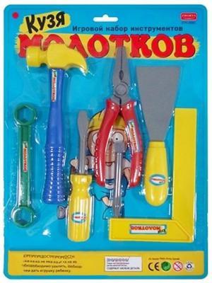 Набор инструментов Shantou Gepai Кузя Молотков 7 предметов набор инструментов shantou gepai 721 9 12 предметов page 7