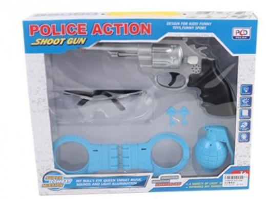 Игровой набор Shantou Gepai полиция 5 предметов технопарк игровой набор полиция
