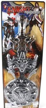 Набор оружия Shantou Gepai Рыцари 2 предмета 583-2