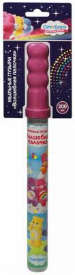 Мыльные пузыри Росмэн Волшебная палочка - Заботливые мишки 200 мл разноцветный мыльные пузыри peppa pig волшебная палочка 200 мл