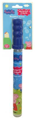 Мыльные пузыри Росмэн Волшебная палочка - Пеппа Пиг 200 мл разноцветный росмэн peppa pig superstar