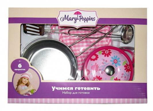 Набор посуды Mary Poppins Цветы 453084 металлическая мешок для обуви mary poppins с ручками цветы