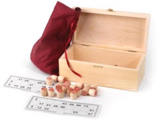 Настольная игра Шахматы лото Лото в деревянном сундучке в ассортименте
