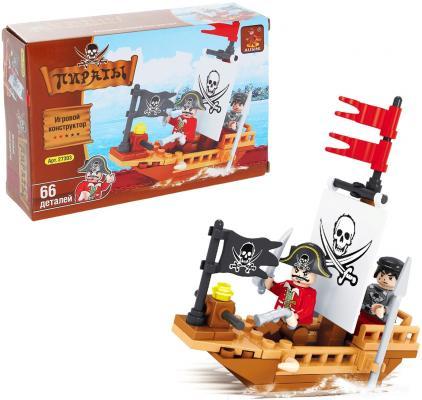Конструктор BRICK Пираты 66 элементов конструктор пластиковый toto 021 подъемник 84 детали