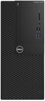 Системный блок DELL Optiplex 3050 MT i3-6100 3.7GHz 4Gb 500Gb HD530 DVD-RW Win7Pro Win10Pro черный 3050-0344 системный блок dell optiplex 3050 mt i5 6500 3 2ghz 4gb 500gb hd530 dvd rw win7pro win10pro клавиатура мышь серебристо черный 3050 0368