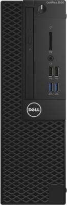Системный блок DELL Optiplex 3050 SFF i3-6100 3.7GHz 4Gb 500Gb HD530 DVD-RW Win7Pro черный 3050-7956