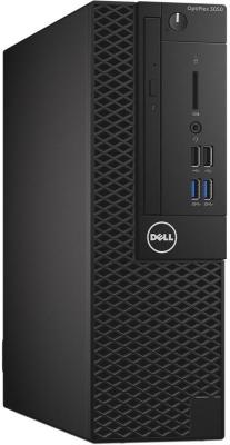 Системный блок DELL Optiplex 3050 SFF i5-6500 3.2GHz 4Gb 500Gb HD530 DVD-RW Win7Pro черный 3050-0429 системный блок dell optiplex 3050 intel core i3 3400мгц 4гб ram 128гб win 10 pro черный
