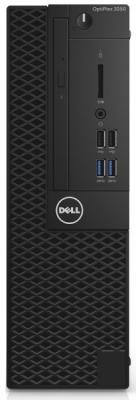 Системный блок DELL Optiplex 3050 SFF i5-7500 3.4GHz 8Gb 256Gb SSD HD630 DVD-RW Linux черный 3050-0436 системный блок dell optiplex 3050 sff g4560 3 5ghz 4gb 500gb hd610 dvd rw win10pro черный 3050 0399