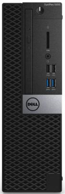 Компьютер DELL Optiplex 5050 Micro Intel Core i5-7500T 8Gb 500Gb Intel HD Graphics 630 Windows 10 Professional черный 5050-8312 настольный компьютер dell optiplex 5050 mt black silver 5050 8299 intel core i7 7700 3 6 ghz 8192mb 1000gb dvd rw intel hd graphics ethernet windows 10 pro 64 bit