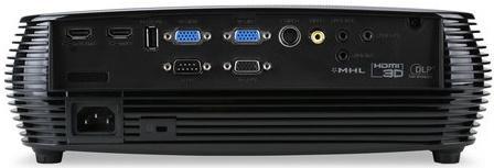 Проектор Acer X1326WH 1280x800 4000 люмен 20000:1 черный MR.JP911.001 от 123.ru