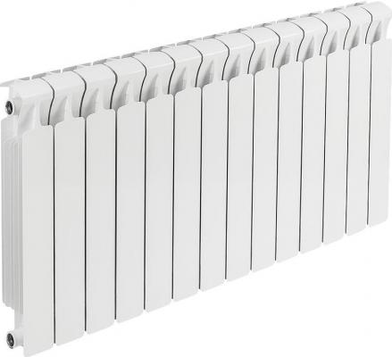 Биметаллический радиатор Rifar Monolit 350 14 секций 1876Вт радиатор биметаллический 3 4 rifar monolit 350 8 секций