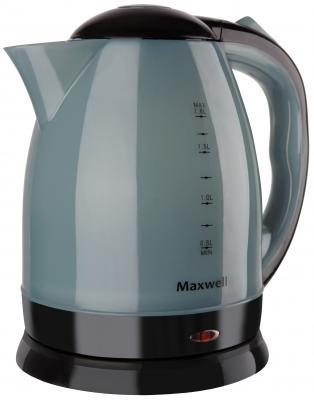 Чайник Maxwell MW-1063 B 1850 Вт чёрный 1.8 л пластик чайник maxwell mw 1072 b