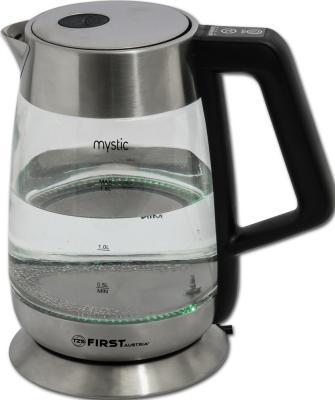 Чайник First 5406-7 2200 Вт серебристый 1.7 л металл/стекло