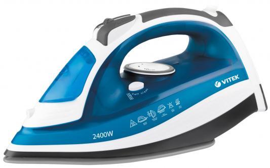 Утюг Vitek VT-1263 B 2400Вт синий белый