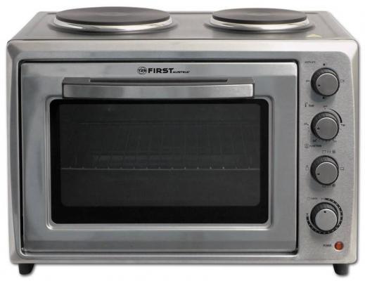 Мини-печь First FA-5045-2 Stell серый