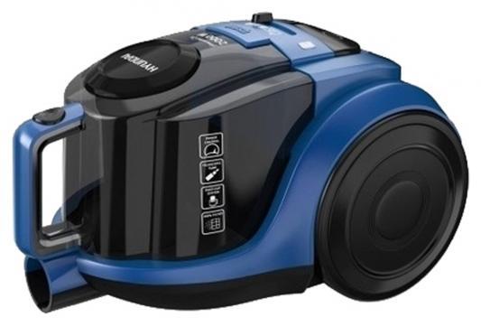 Пылесос Hyundai H-VCC05 сухая уборка синий чёрный пылесос hyundai h vcb01