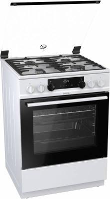 лучшая цена Комбинированная плита Gorenje K634WF белый