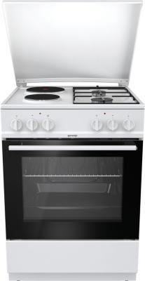 Комбинированная плита Gorenje K6121WG белый