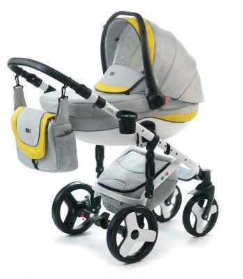Коляска 3-в-1 Vikalex Tasso (light grey) прогулочная коляска cool baby kdd 6699gb t fuchsia light grey