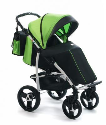 Прогулочная коляска Vikalex Ravella (black - green)
