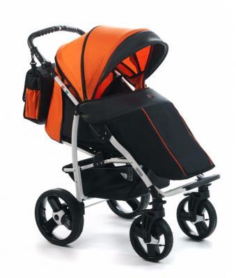 Прогулочная коляска Vikalex Ravella (black - orange)