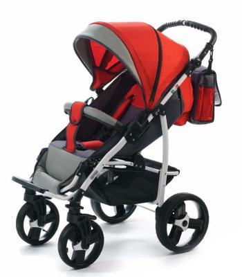 Прогулочная коляска Vikalex Ravella (grey - red)